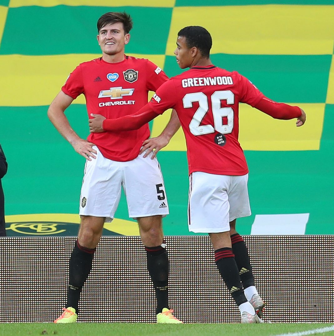 Manchester United Versus Norwich City 5ominds