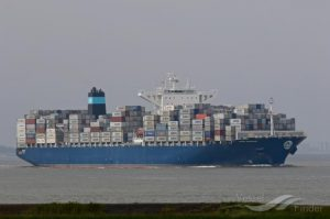 The Maerskline Stardelhorn; Biggest Container Vessel to Berth In Nigeria 5ominds 5ominds