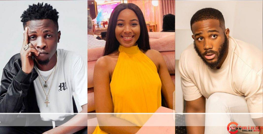 BBNaija: Erica admits Betraying Laycon after picking Kiddwaya as Deputy HoH instead of him 5ominds
