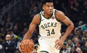 Nigerian Basketballer, Giannis Antetokounmpo Headbutt Opponent during Game 5ominds 5ominds