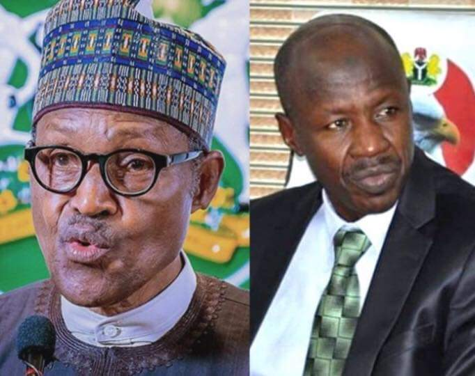 Magu's Probe: Buhari Orders Panel To Audit EFCC Account From 2015 To 2020 5ominds