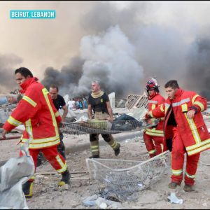 Beirut Explosion- Rescue workers 5ominds 5ominds