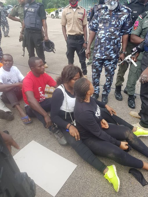 Revolution Now Protesters arrested 5ominds