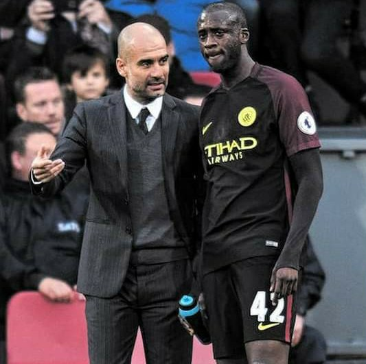 Yaya Toure resume war-of-words with Pep Guardiola 5ominds