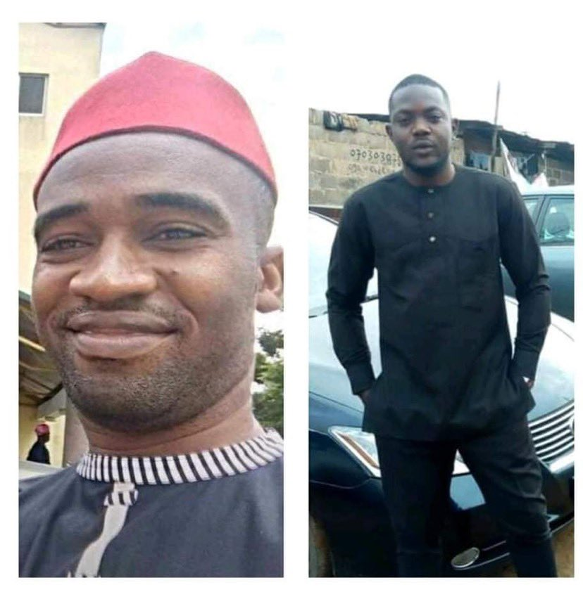 Photo of the two DSS operatives killed with cudgel by IPOB members 5ominds