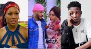 """BBNaija: """"Ozo and Nengi are in a bullsh*t relationship""""- Laycon and Vee says as they mock them (Video) 5ominds 5ominds"""