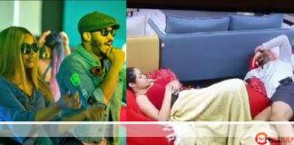 """#BBNaija: """"Look at your fine eyes, your wife would enjoy you""""- Nengi admires Ozo (Video)"""