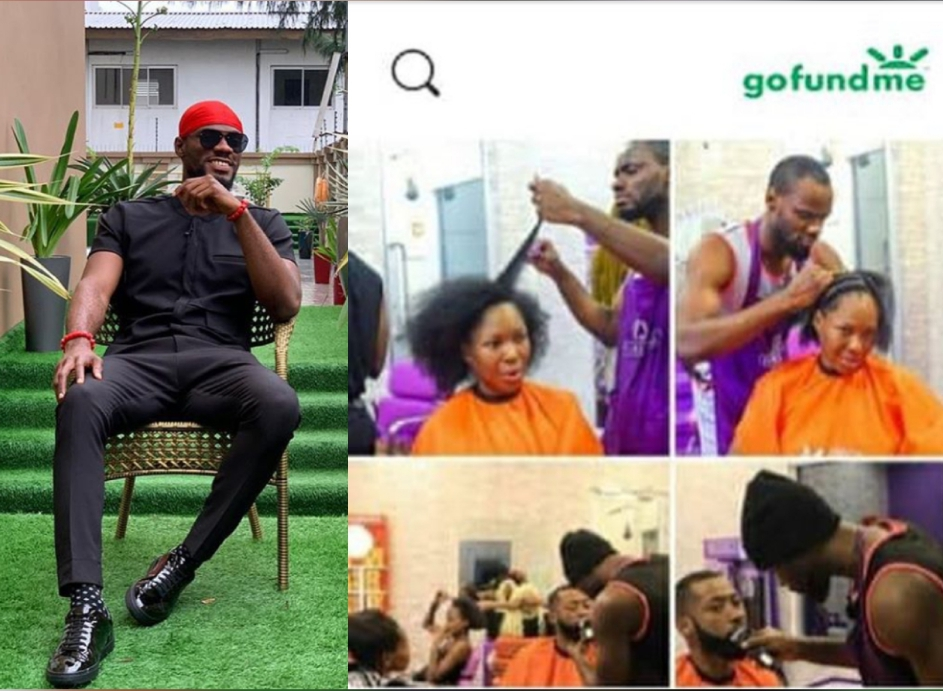 #BBNaija: Prince rejects GoFundMe account set up for him by his fans after eviction to start his salon 5ominds