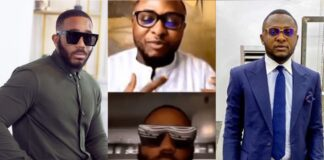 BBNaija: Hilarious Moment Kiddwaya embarrassed Ubi Franklin on IG live for asking about Erica and Laycon (Video)