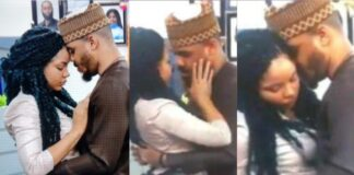 BBNaija: Embarrassing moment Nengi curved Ozo's kiss as he got evicted from the house (Video)
