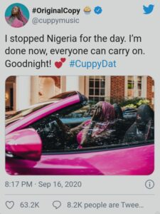 DJ Cuppy 5ominds 5ominds
