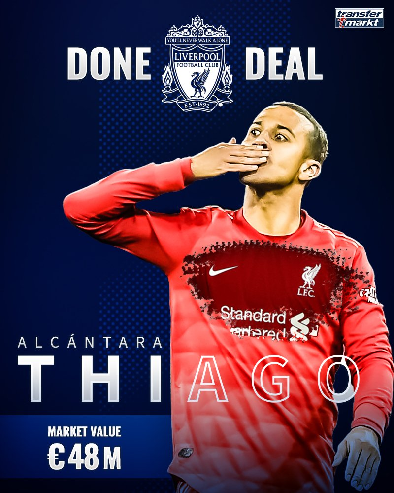 How Liverpool Signed Thiago Alcantara a Player Worth £43.8m for £20m 5ominds