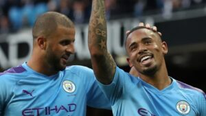 Manchester City Close down Training Ground; Game With Everton Postponed. manchester city - skynews kyle walker gabriel jesus 5221024 300x169 - Manchester City Close down Training Ground; Game With Everton Postponed manchester city - skynews kyle walker gabriel jesus 5221024 300x169 - Manchester City Close down Training Ground; Game With Everton Postponed